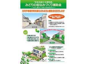 民有地緑化支援事業